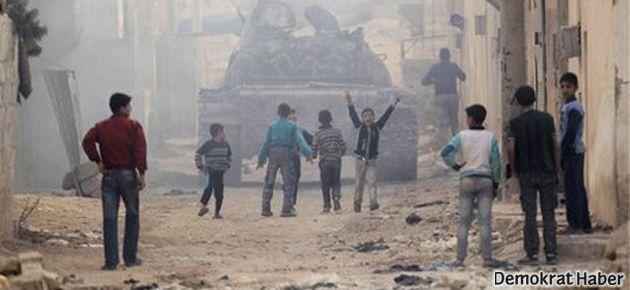 Suriye: Savaşta 11 bin çocuk öldü