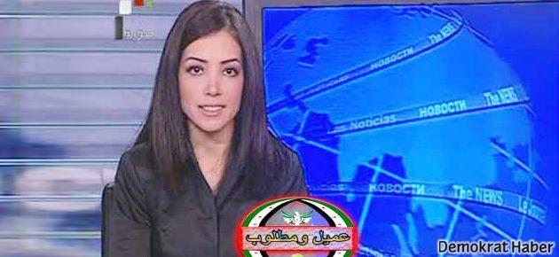 Suriye televizyonu spikeri Hatay'da başkan adayı!