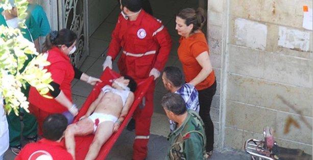 Suriye'de muhaliflerden iki okula bombalı saldırı