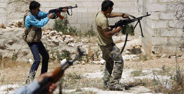 Suriye'deki  iç savaşta ölü sayısı 162 bini geçti