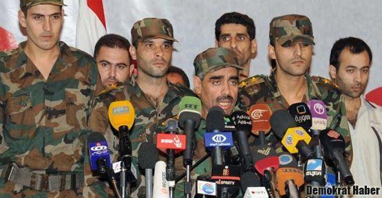 Suriyeli muhalifler orduya geri döndü