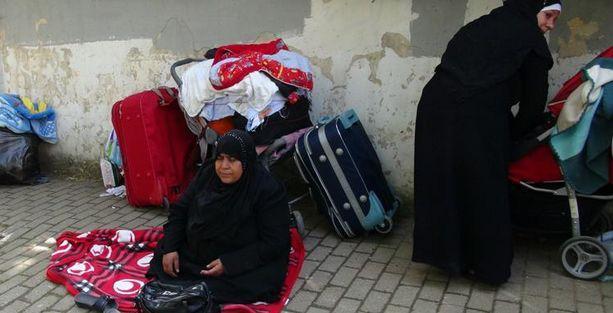 Suriyeli mülteciler kamptan çıkarıldı!