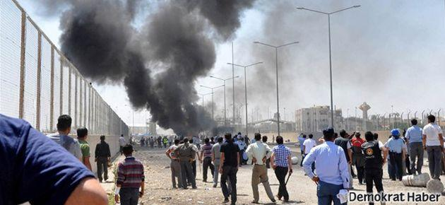 Suriyeliler'e geçiş izni verilmedi, gerginlik çıktı: 10 yaralı