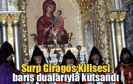 Surp Giragos Kilisesi barış dualarıyla kutsandı