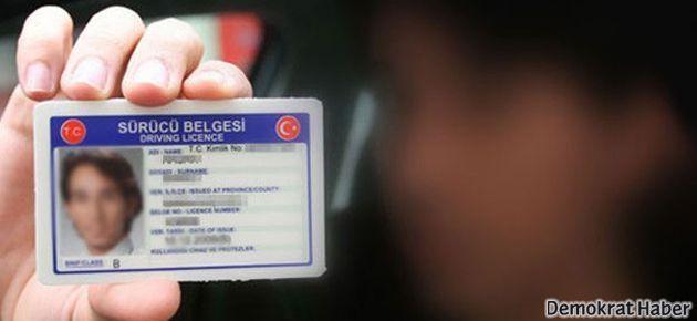Sürücü belgelerinin değişim ücreti belli oldu