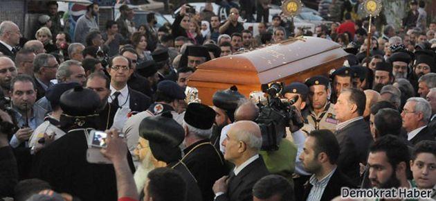 Süryani Patriği'ni Şam'da birlikte uğurladılar