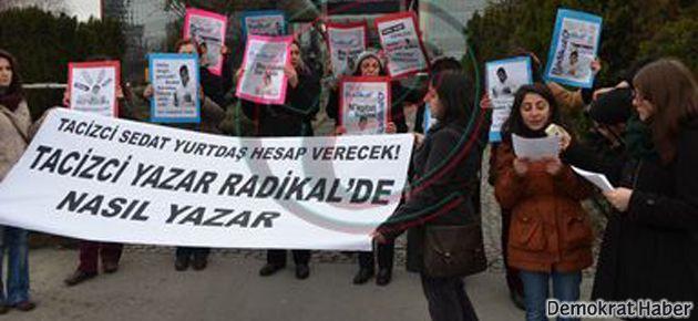 """""""Tacizci yazar, Radikal'de nasıl yazar"""""""