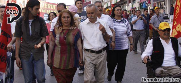 Tahir Canan da ailesiyle birlikte 1 Mayıs'taydı