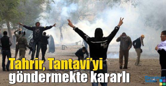Tahrir, Tantavi'yi göndermekte kararlı