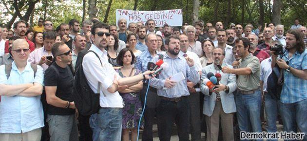 Taksim Dayanışması Gezi Parkı'nda