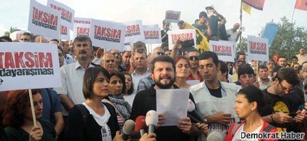 Taksim Dayanışması'ndan çağrı