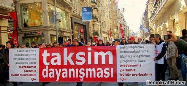 Taksim Dayanışması'ndan erken saatlerde acil duyuru