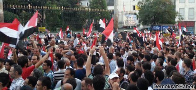 'Taksim'de Mısır eylemine izin yok'