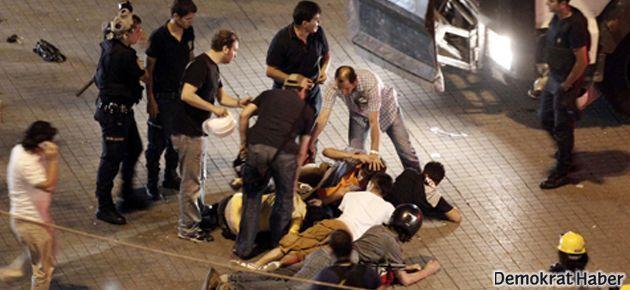 Taksim'de ondan fazla gözaltı
