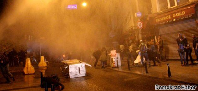 Taksim'deki ODTÜ protestosuna polis saldırdı