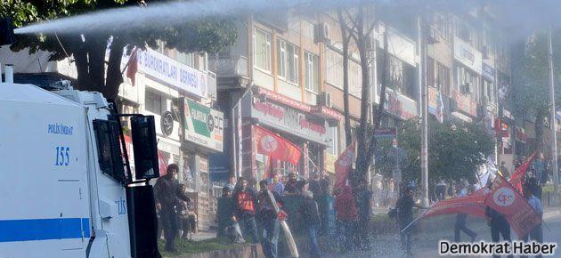 Taksim'e yürüyüşe müdahale
