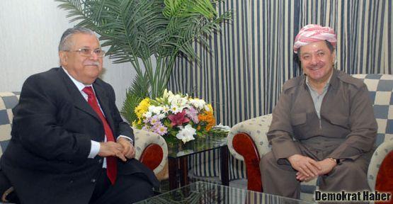 Talabani ve Barzani'den kritik görüşme