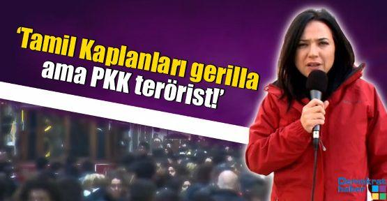 'Tamil Kaplanları gerilla ama PKK terörist!'