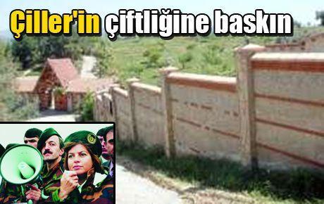 Tansu Çiller'in çiftliğine baskın