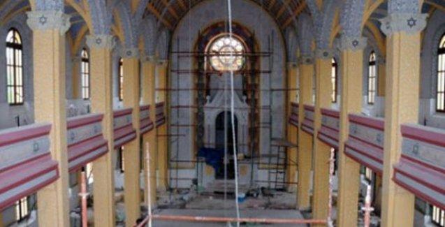 Tarihi sinagog ibadethane olarak açılıyor