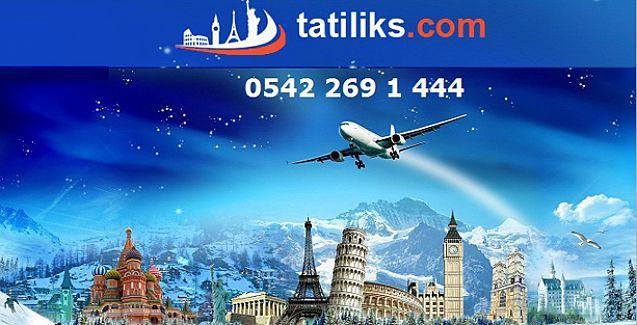 Tatiliks ile Uçak Biletinizi ucuza getirin