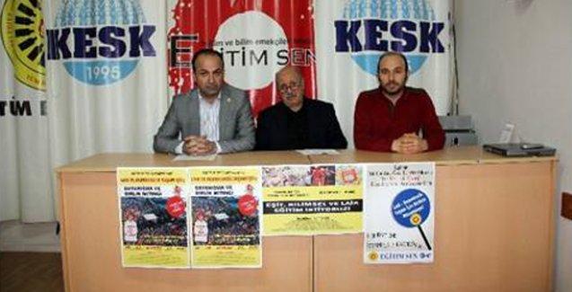 'Tek din, tek mezhep' dayatmasına karşı Kadıköy'de miting