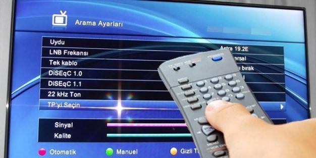 Televizyon kanallarının frekansları değişiyor