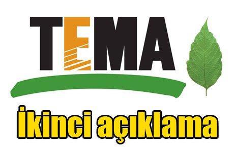 TEMA'dan ikinci açıklama