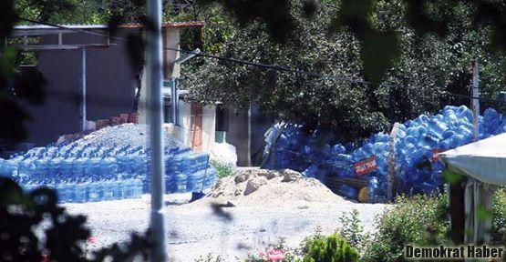 Teşhir edilen sucular: Damacanaları temiz tutmuyorlar