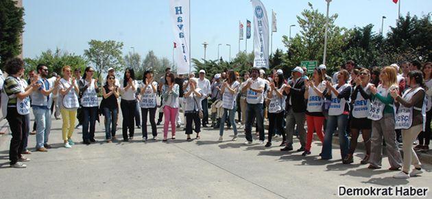 THY Grevi'nde 2. gün: Greve katılım artıyor
