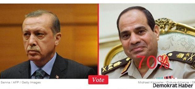 TIME'ın anketinde Sisi Erdoğan'ı geçti