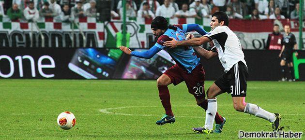 Trabzonspor Varşova'da da esti