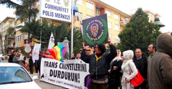 Transfobik saldırılar protesto edildi