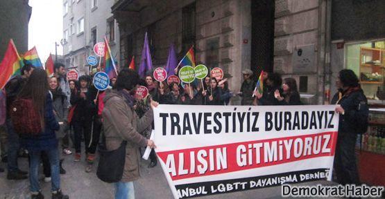 'Transfobiye, polis şiddetine karşı ses çıkar'