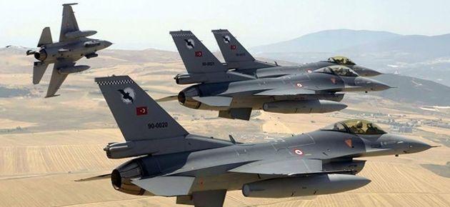 TSK: Suriye füzeleri Türk uçağına kilitlendi