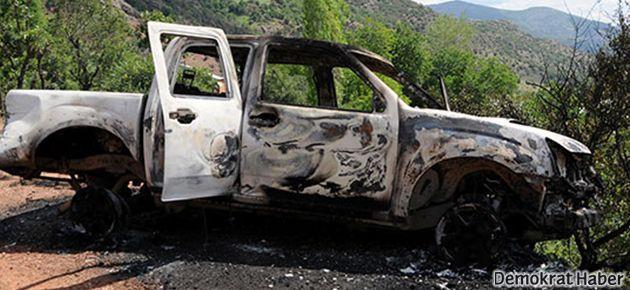Tunceli ve Erzincan'da şantiye baskını