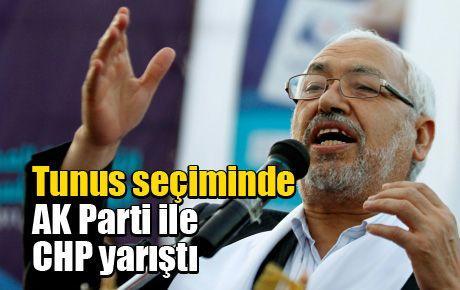 Tunus seçiminde AK Parti ile CHP yarıştı