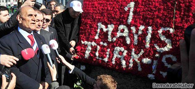 Türk-İş'ten 1 Mayıs için Taksim başvurusu