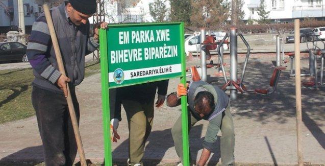 Türkçe ifadeler içermeyen tabelalar için daha fazla vergi!