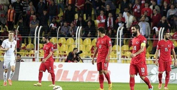Türkiye, gruptaki ikinci maçında da mağlup