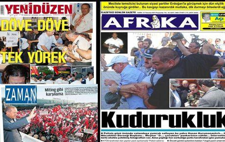 Türkiye medyası Kıbrıs'tan bi haber