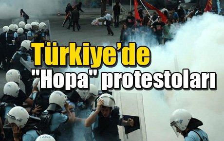 Türkiye'de Hopa protestoları