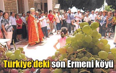 Türkiye'deki son Ermeni köyü