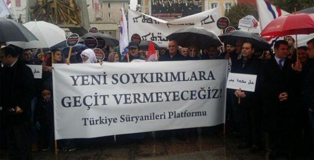 Türkiyeli Süryanilerden IŞİD protestosu