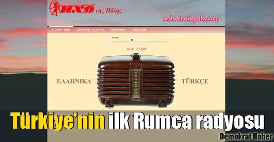 Türkiye'nin ilk Rumca radyosu