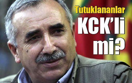 Tutuklananlar KCK'li mi?