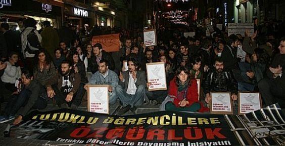 'Tutuklu öğrencilere özgürlük'