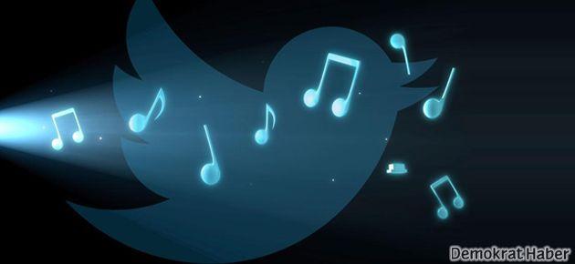 Twitter'da müzik uygulaması dönemi