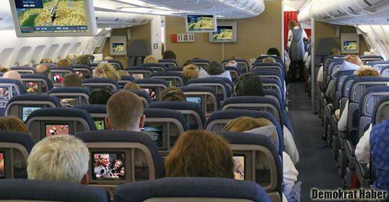 'Uçakta mastürbasyon' iddiasına gözaltı