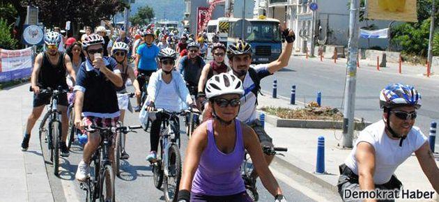 Üçüncü köprüye pedallı protesto